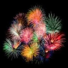 Firework Arrangements For Reception