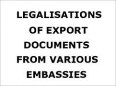 Export Documents requirement