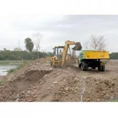 Foundation Digging By JCB