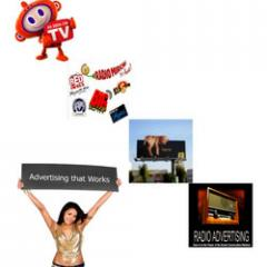 TV, Radio & Hoarding Advertising services