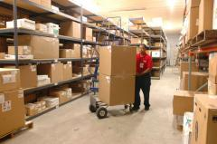Company warehouse logistics