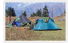Camping in India
