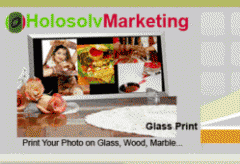 Print Photos On Glass, Wood, Marble