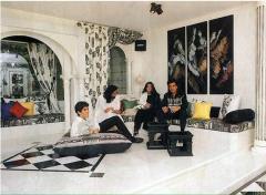 Interior design Ravi Kapoor's residence