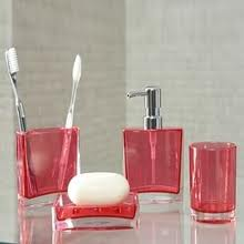 Acrylic Bathroom Set