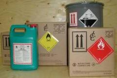 International air freight forwarder for chemicals and dangerous goods
