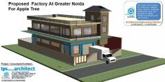 Architectural  Planning  and  design  For  Factory  &  Industrial  Building