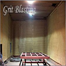 Grit Blasting Process Services