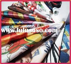 Direct Digital Prints to Fabric