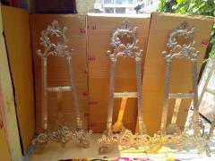 Brass Easels , And Brass Samovar