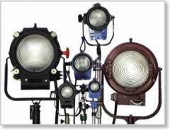 Film Lighting Equipment India & Nepal Rental Service