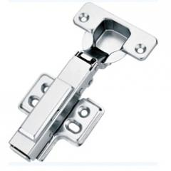 Hydraulic Buffering Concealed Hinge With Rubber