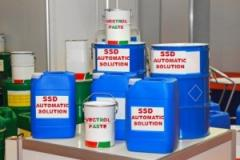 SSD CHEMICALS SOLUTION AUTOMATIC FOR CLEANING BLACK DEFACE CURRENCY AND ACTIVACTION POWDER