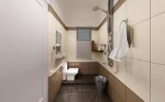 Modern toilet interiors