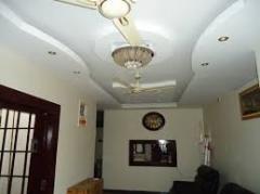Living hall decoration