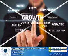 High Return Managed Turnkey Online Service Project Consultants in India