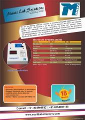 UV-VIS Spectrophotometer (Single Beam and Double Beam), Visible Spectrophotometer, Flame Photometer, Nephelometer, Turbidity Meter, pH Meter, Conductivity Meter, TDS Meter, Salinity Meter, Potentiometer, Colorimeter, Haemoglobin Meter, DO Meter, Colony Co