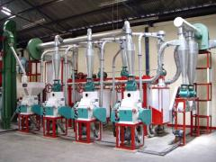 Turnkey Basis Grain Processing Plant Setup