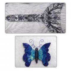 Sequins Work Embroideries