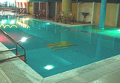 Swimming pool in a hotel